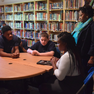 Local Author Inspires Students